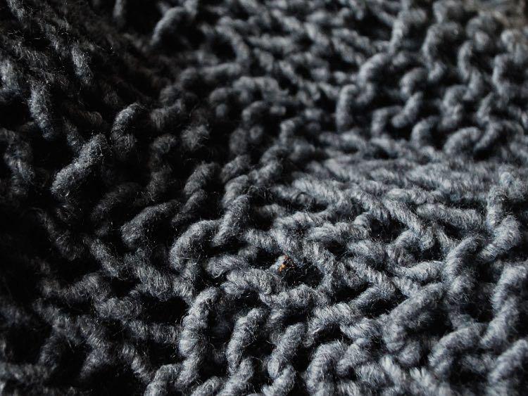 Tutoriel DIY: Tricoter un couvre-lit en point damier via DaWanda.com ...
