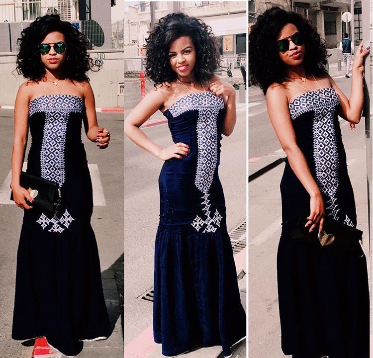 Modern Twist On A Traditional Dress Absolutely Stunning African Fashion Ethiopian Eritrean