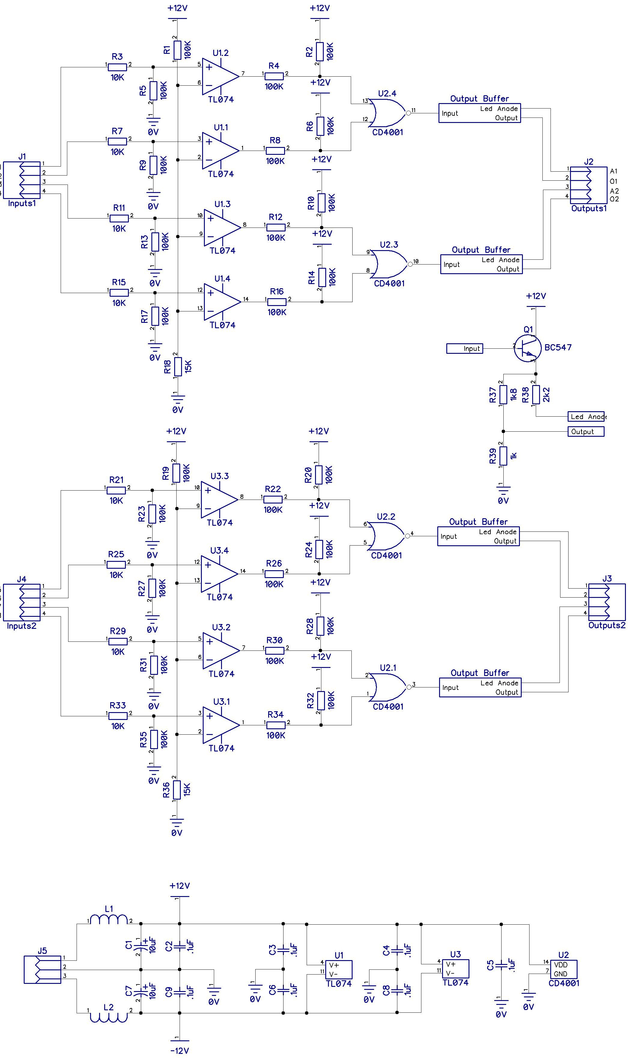 Quad And Gate Schematic Circuit Wiring Diagram Hub Xor Ken Stone Logic Gates Schematics Cgs39 All About Modular Rh Pinterest Ca