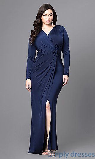 Plus Size Formal Dresses with Sleeves Under 100