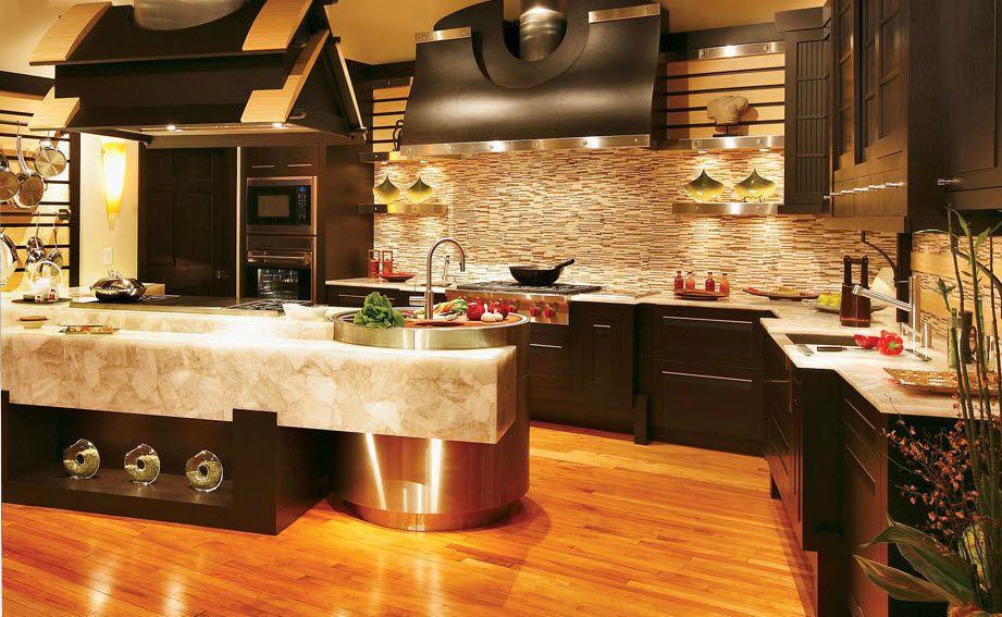 Resultado De Imagen Para Cocinas Lujosas En Acero Inoxidable