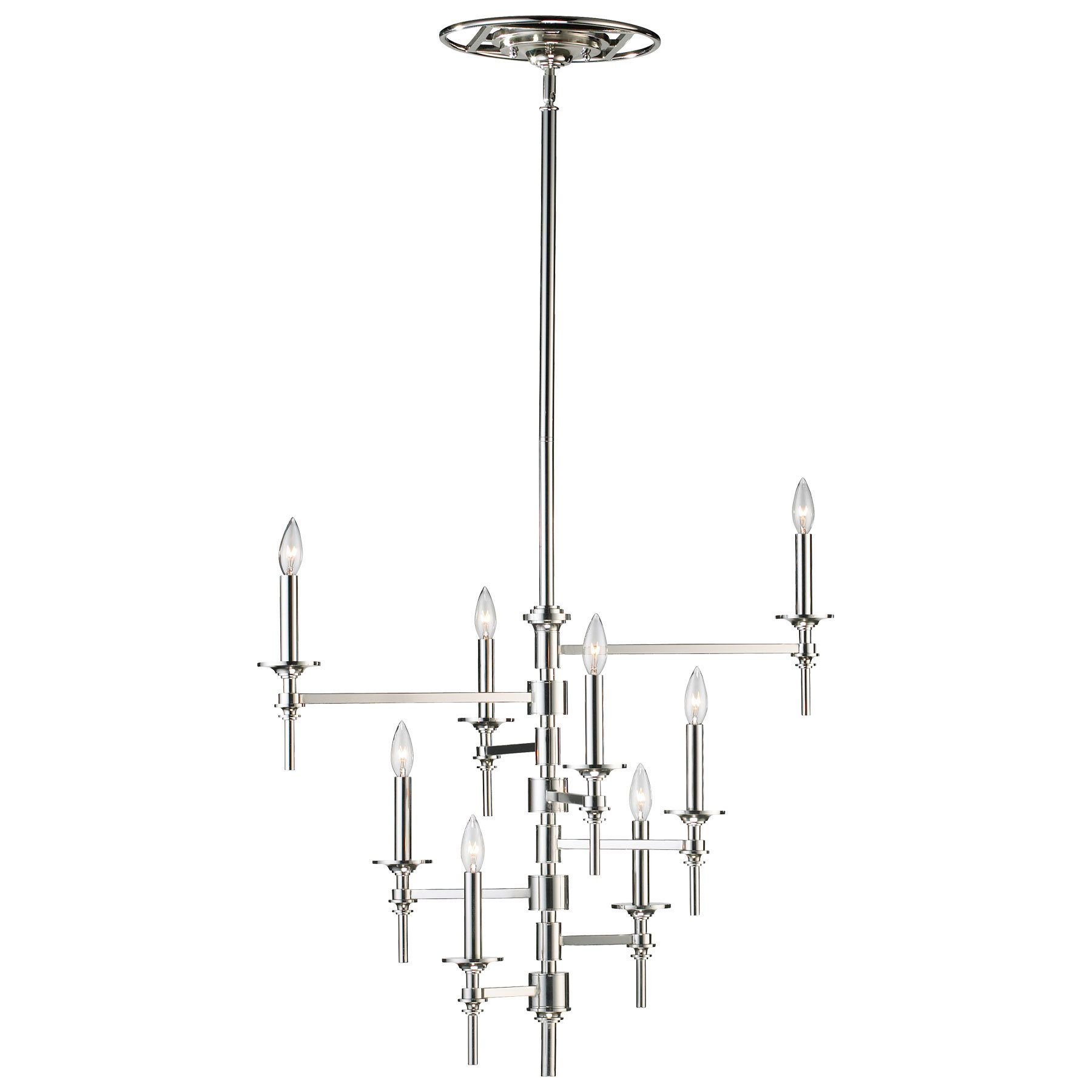 South Shore Decorating: Cyan Design 04182 Omega Transitional 8-Light Chandelier CN-04182