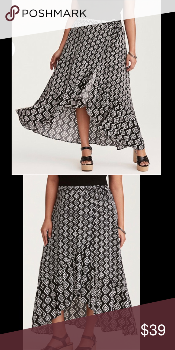 22028a66c7b Torrid Hi Low Skirt So flattering brand new maxi skirt size 3x torrid  Skirts High Low