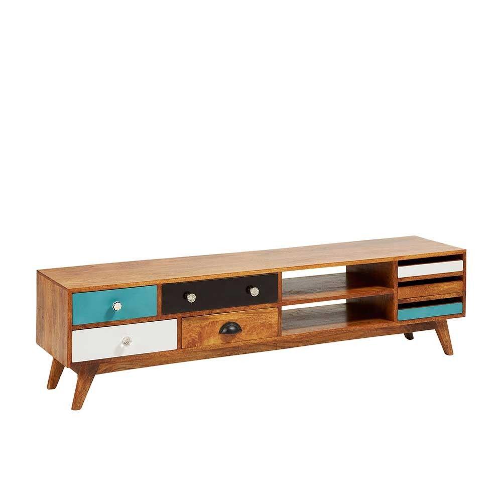 Tv Board Londey Holz Tv Board Und Bunt