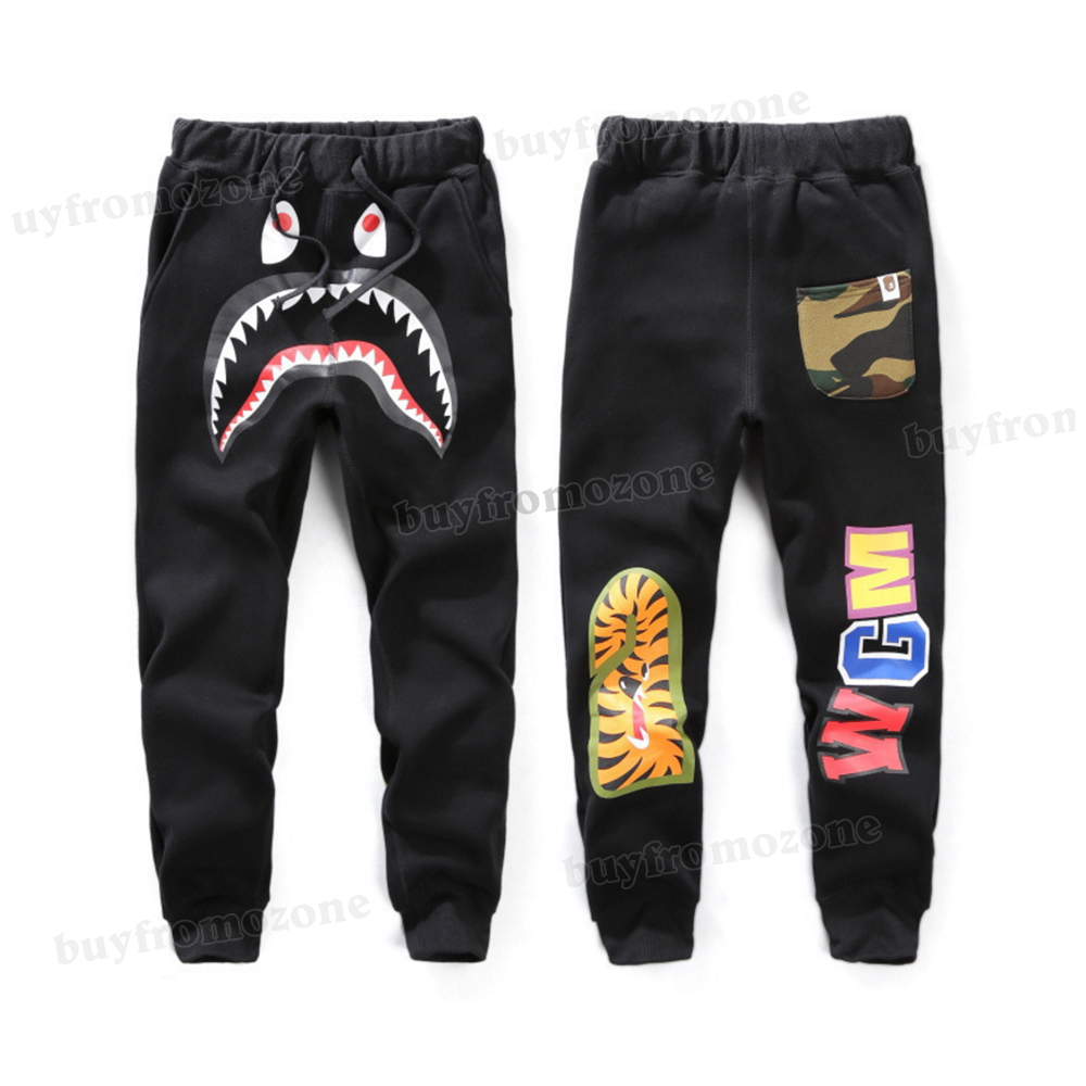 A Bathing Ape Pants Bape Sweatpants Skinny Outwear Casual Jogger Unisex Trousers