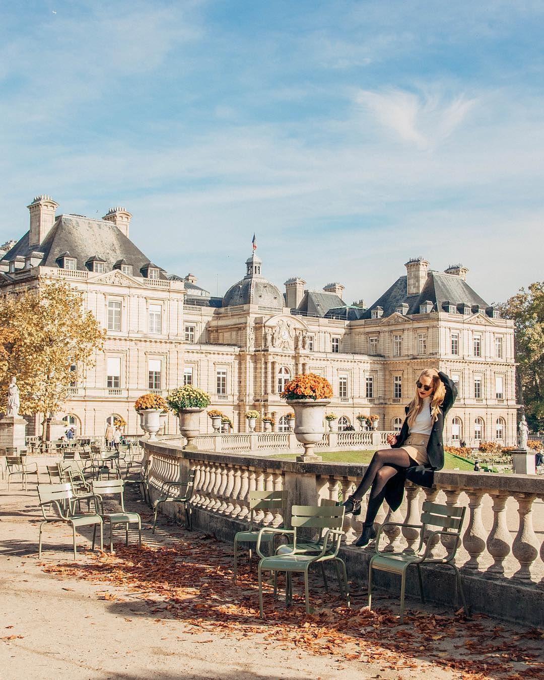 Paris P Ris Thisisparis On Instagram The Jardin Du Luxembourg