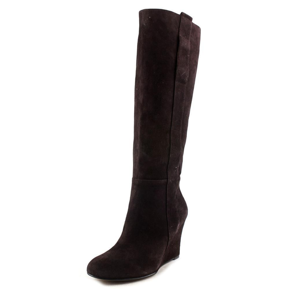 Nine West Oran Round Toe Suede Knee High Boot Nwob