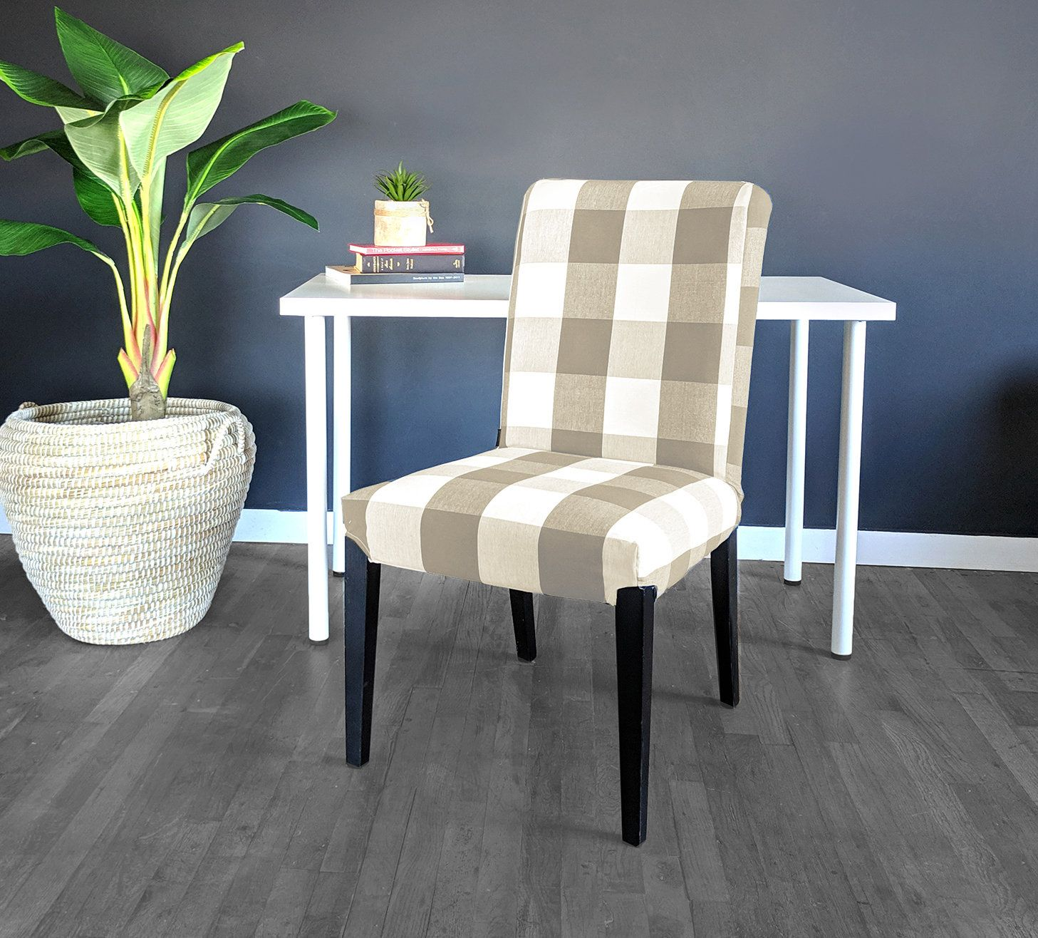 IKEA HENRIKSDAL Dining Chair Cover, Traditional Style