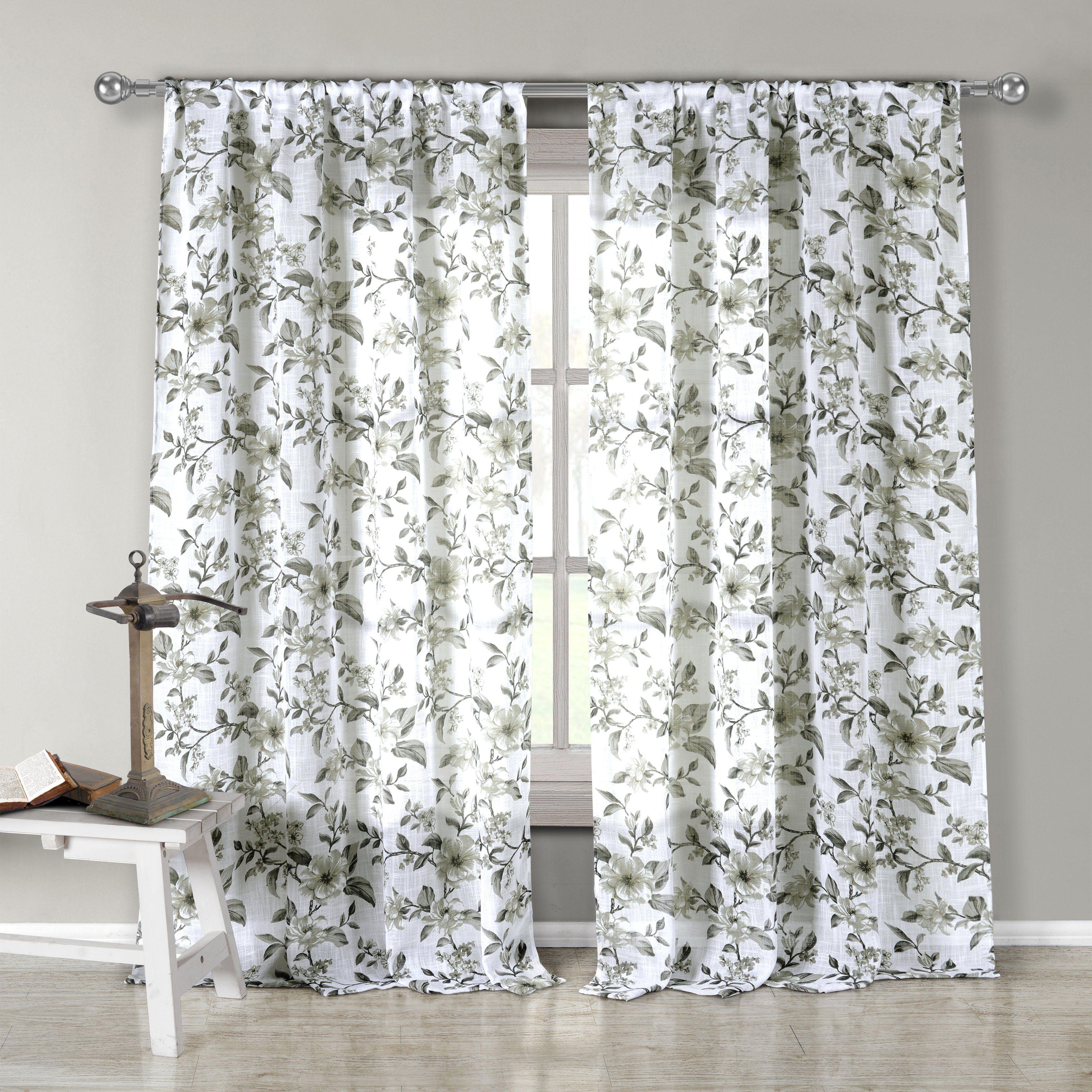 Duck River Lylia Pole Top Curtain Panel  Lypgo=12 3896