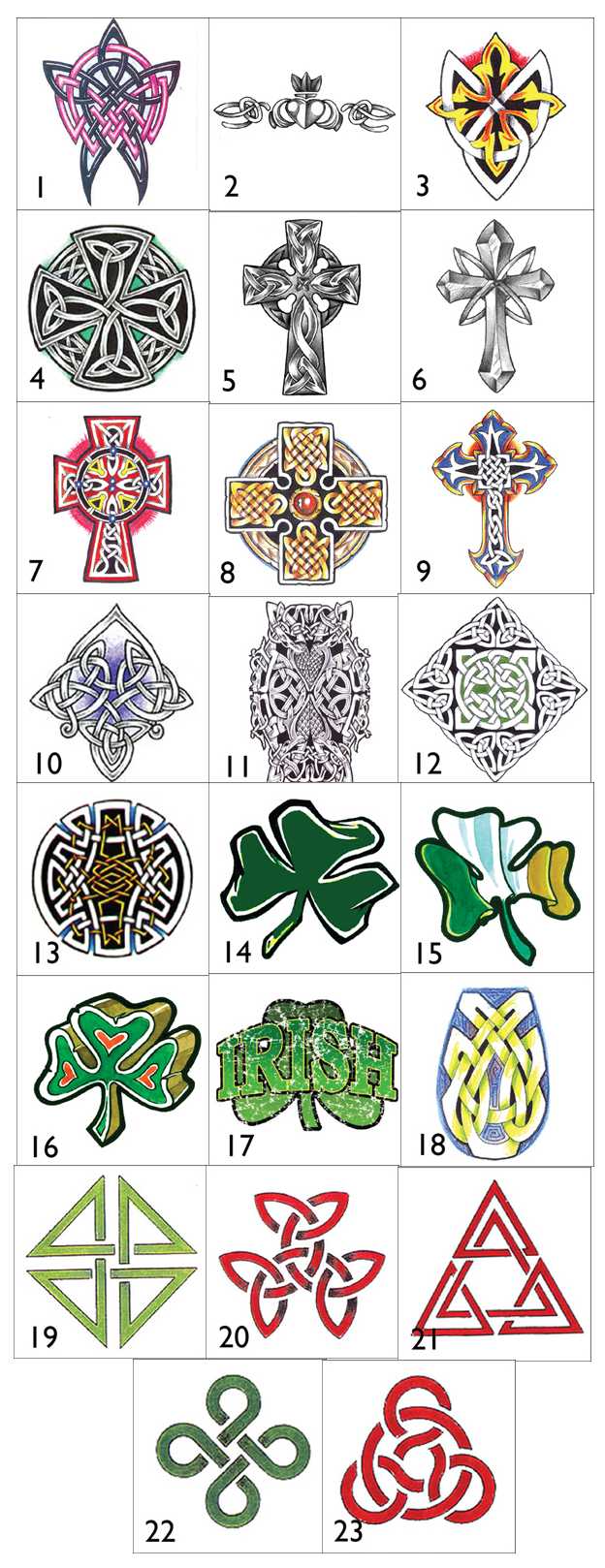 Irish Celtic Symbols And Their Meanings Irish celtic ...