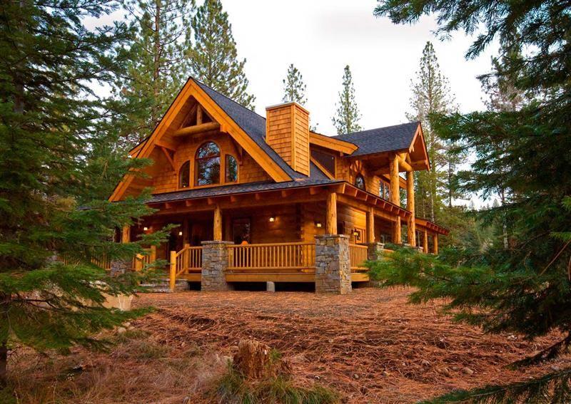 Mountain View Lodge 1 Plan Maine house, Log homes, New