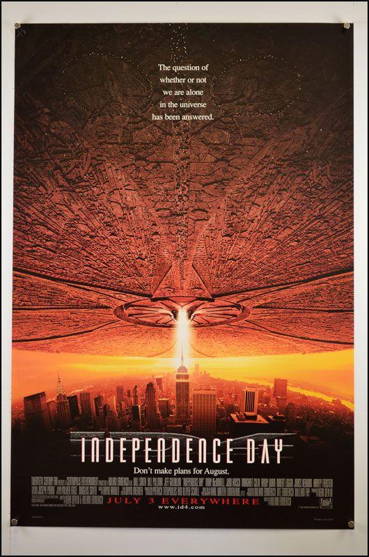 Independence Day 1996 1 Sheet Movie Poster Original Movie