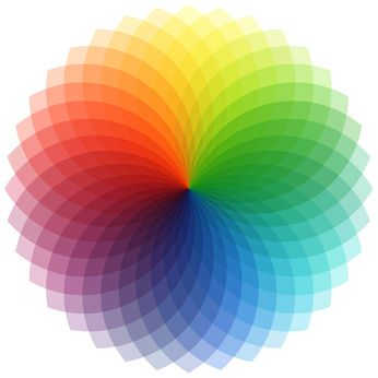 Visualise how colours work together with the colour wheel How does the colour wheel work