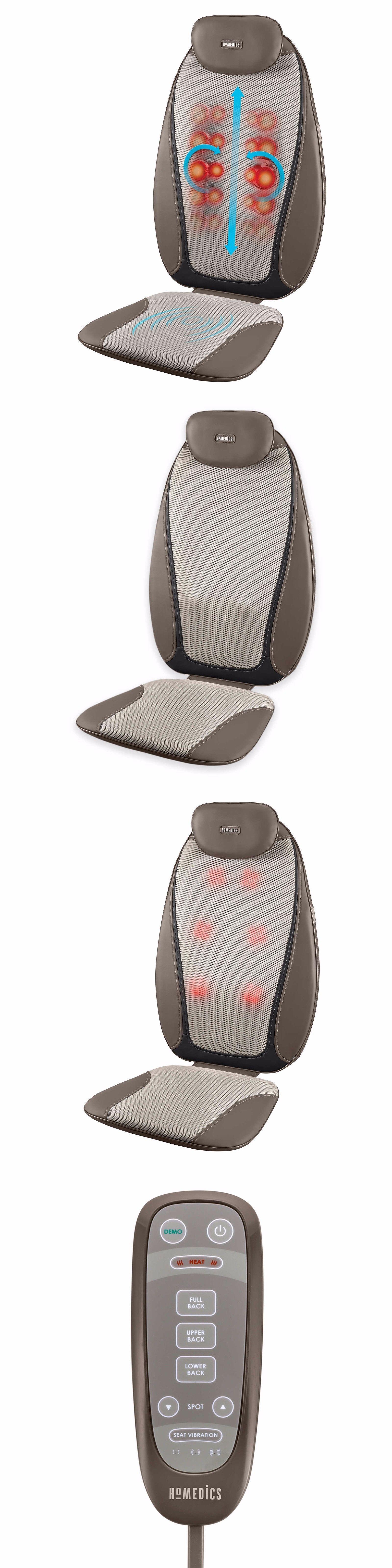 Electric Massage Chairs Homedics Dual Shiatsu Pro Plus Back