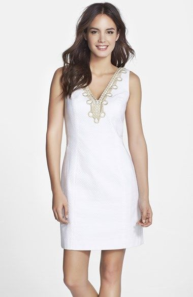 Lilly Pulitzer Bentley Lace Trim Shift Dress Available At