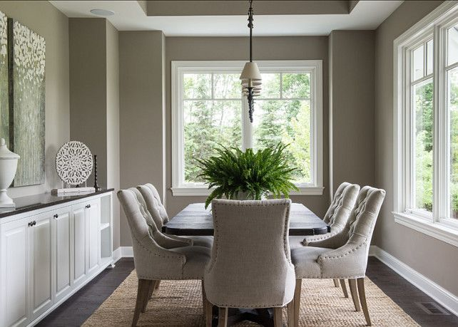 "Sherwin Williams Paint Color. ""Sherwin Williams Morris Room Gray"". #SherwinWilliams #MorrisRoomGray"