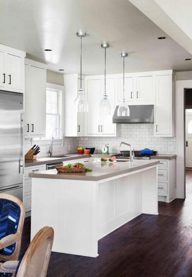 Find Cool L-Shaped Kitchen Design for Your Home Now | Pinterest ...