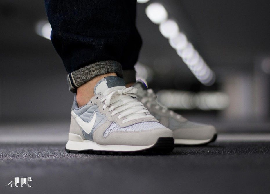 hot sale online 370d5 9d323 Nike Internationalist (Wolf Grey/ Sail - Sail) | Sneakers | Nike ...
