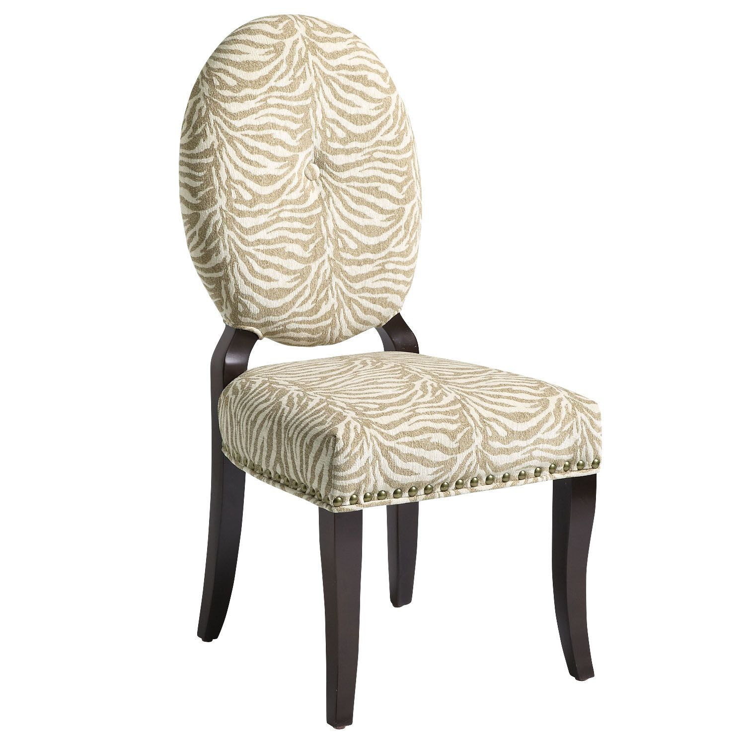 Elise Ovalback Dining Chair  Zebra Tan  Pier 1 Imports  Home Unique Zebra Dining Room Chairs Inspiration Design