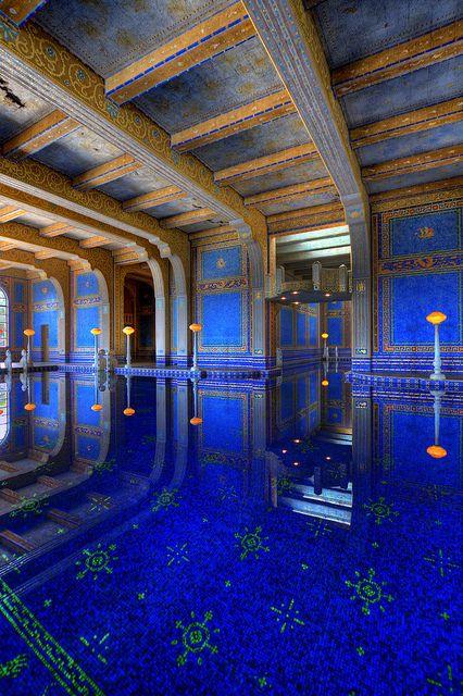 Roman Pool Hearst Castle