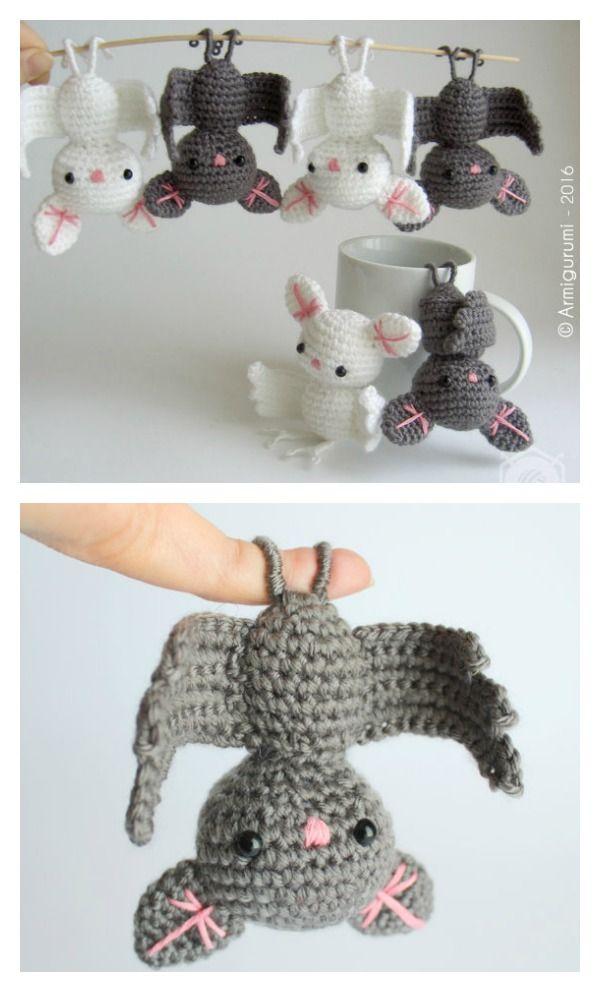 Adorable Amigurumi Bat Crochet Pattern   Patrones amigurumi ...