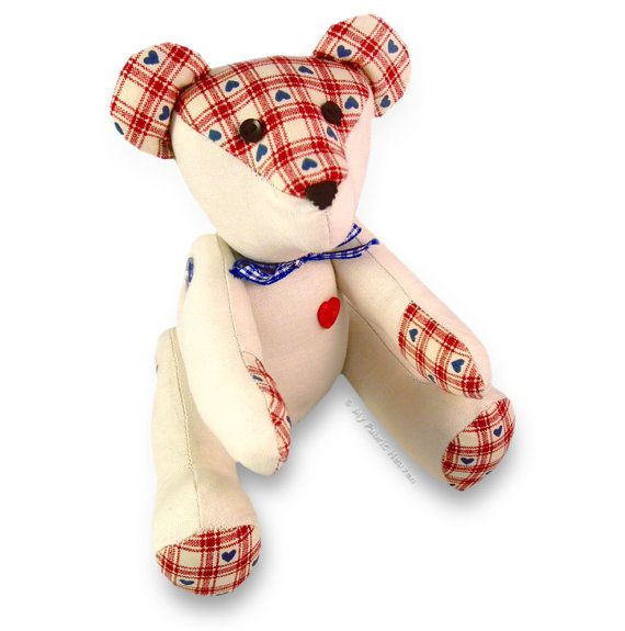 Teddy Bear PRINTED Sewing PATTERN & Full Instructions Make Your Own ...