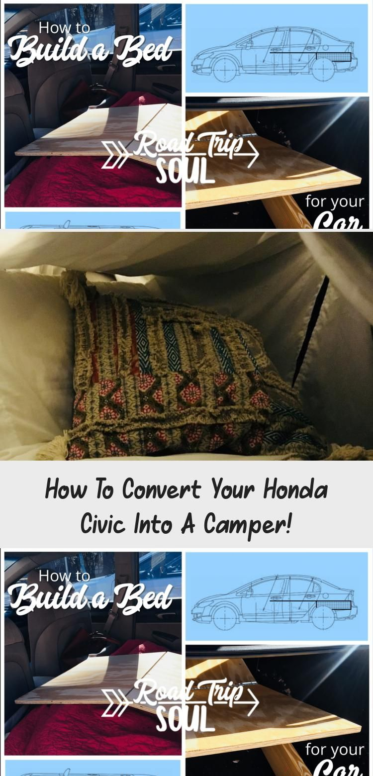 Are you looking for a way to sleep and live in your Honda Civic or other small car? Let me walk you