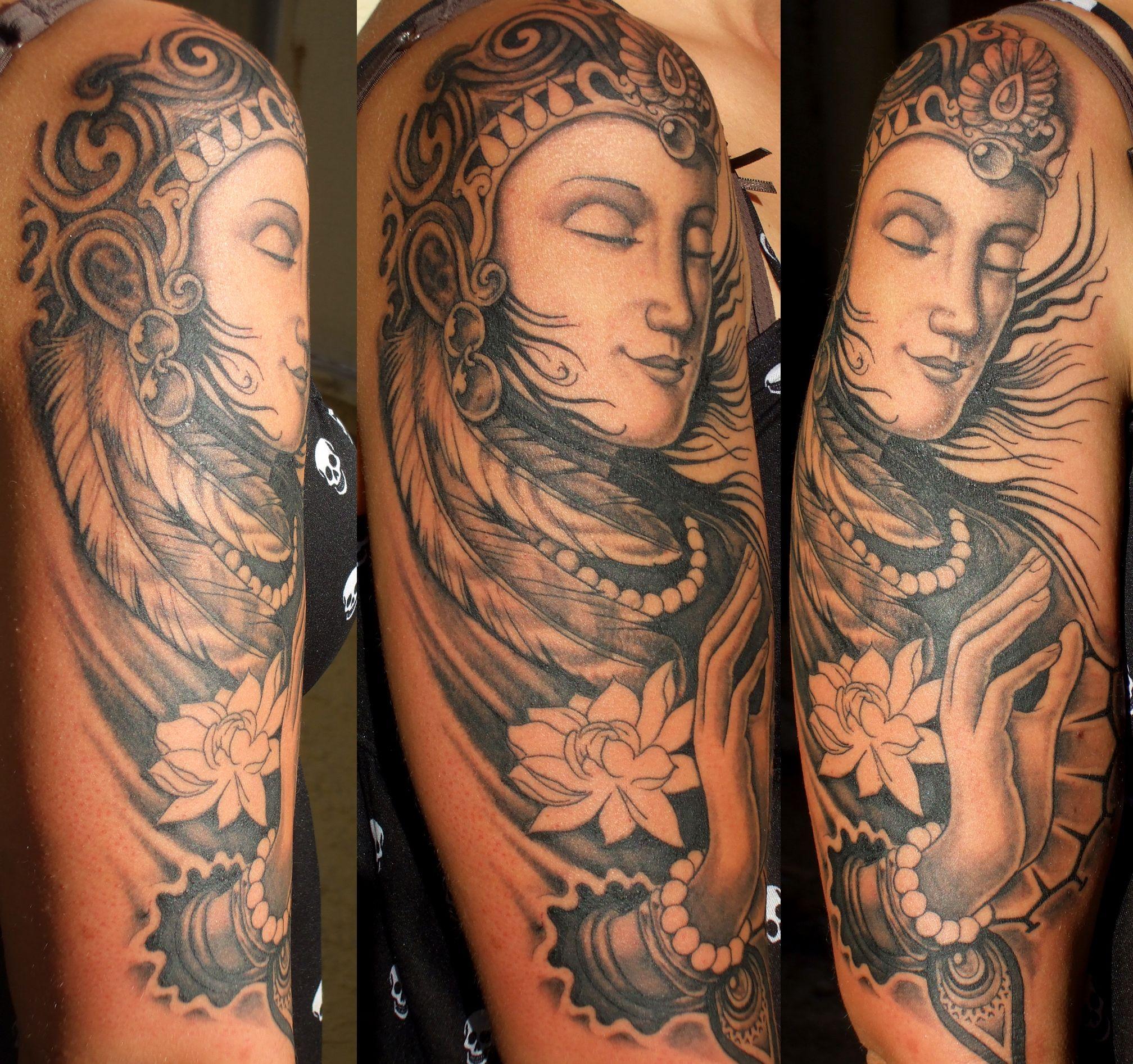 Buddha Tattoo Design On Sleeve Buddha Tattoo Design Buddha Tattoo Buddha Tattoos