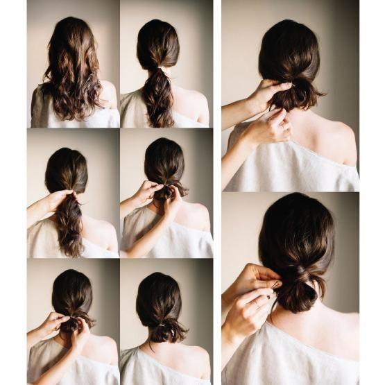 Best 25 pasos para peinados sencillos ideas on pinterest - Como hacer peinados faciles ...
