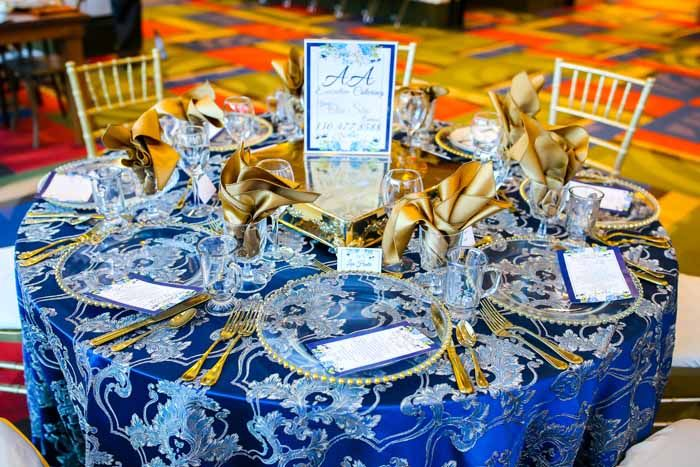 January Akron Bridal Show Decor and Table Winners