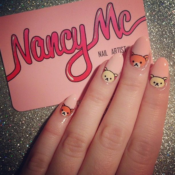 Go on, admit it.. My nails are a bit cuter than yours! #nancymcnails ...