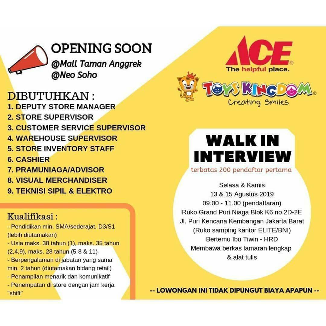 Repost Loker Kawanlamaretail New Opening Soon Mall Taman