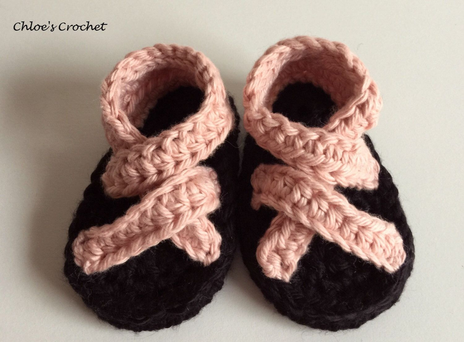 Crochet Baby Chaco Style Sandals