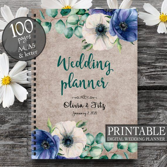 Wedding Organiser, DIY Wedding Planner, Printable To Do