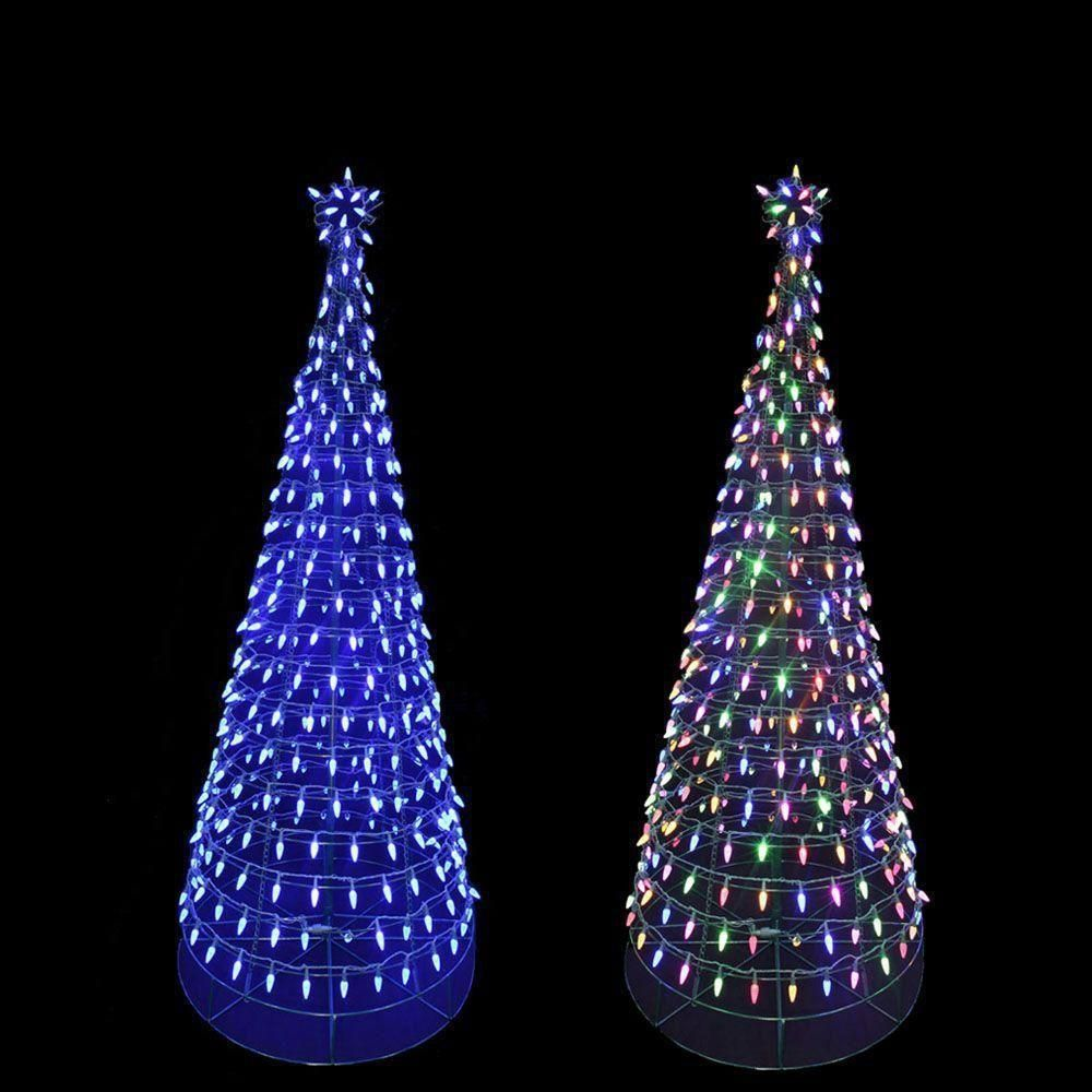 Lighted Outdoor Trees Christmas outdoor 6ft lighted tree sculpture yard art lawn led christmas outdoor 6ft lighted tree sculpture yard art lawn led lighting decor unbranded workwithnaturefo