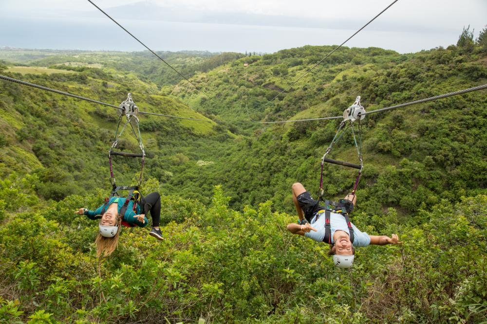 Kapalua Zip Lines View Page Ziplining Zipline Adventure Maui