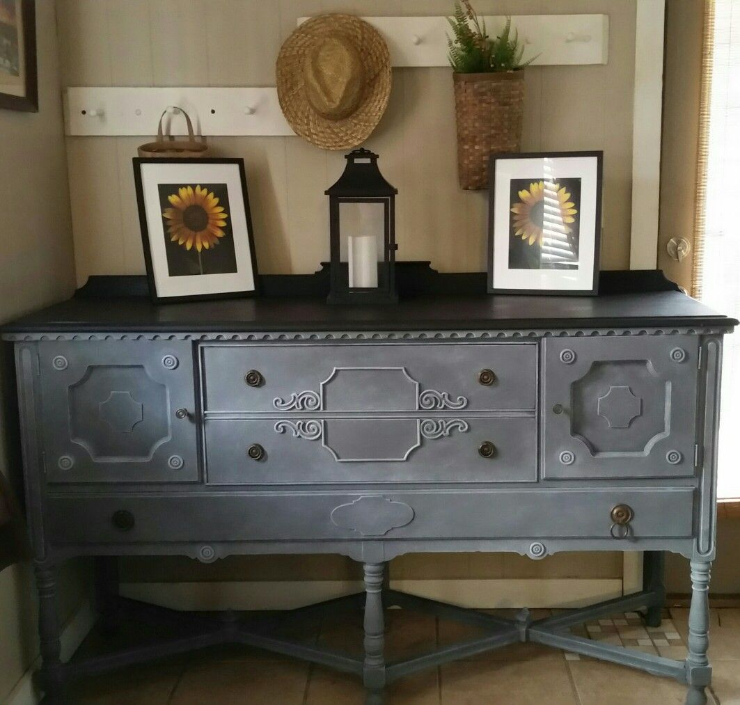 Beautiful Transformation On This Buffet! Amy Howard's One