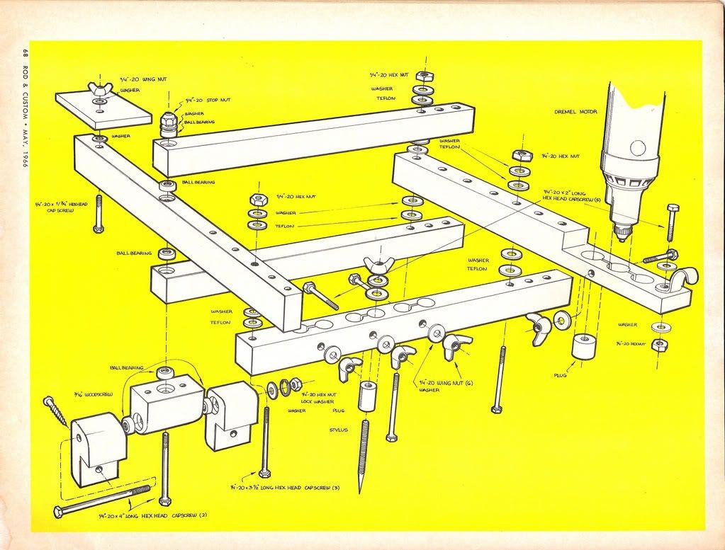 Pantograph Router Plans