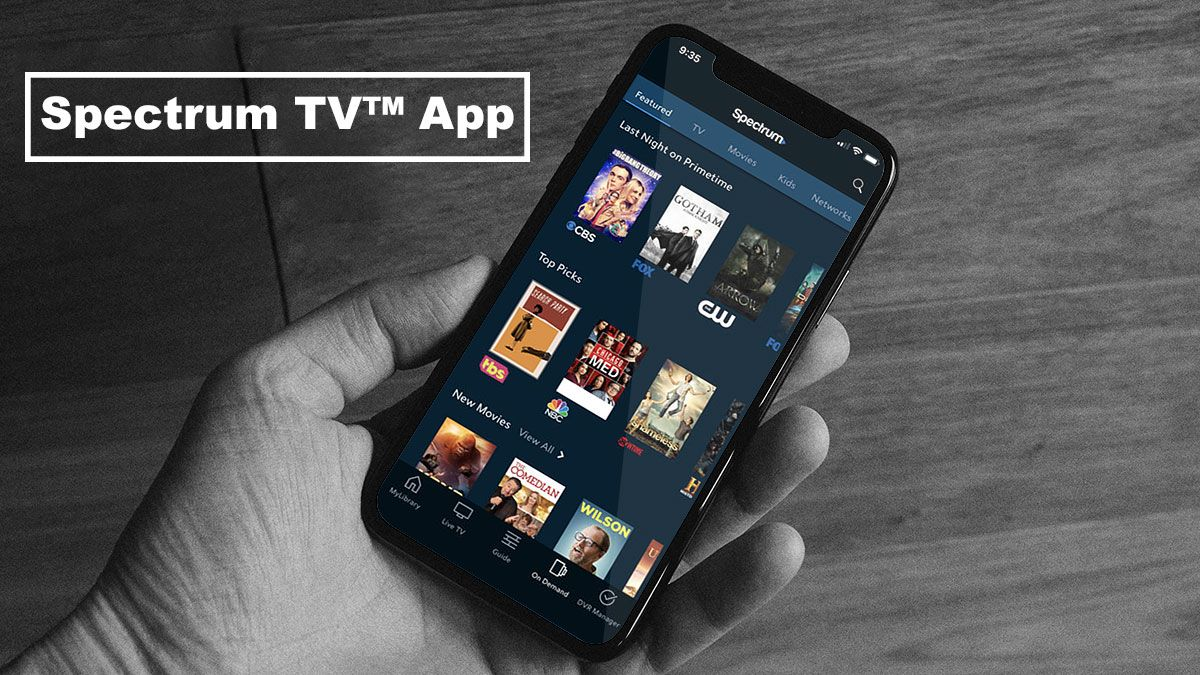 Pin by Cable and on Spectrum TV App Tv app
