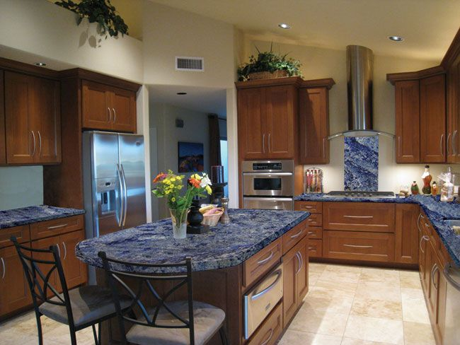 Blue Bahia Granite Need This Color For My Kitchen Countertops Decorating Ideas Pinterest
