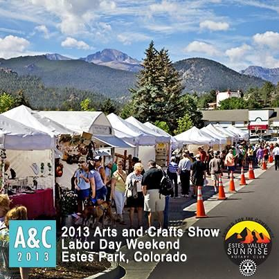 Pin By Dennis Feist On Things To Do In Estes Park Colorado Vacation Estes Park Art And Craft Shows