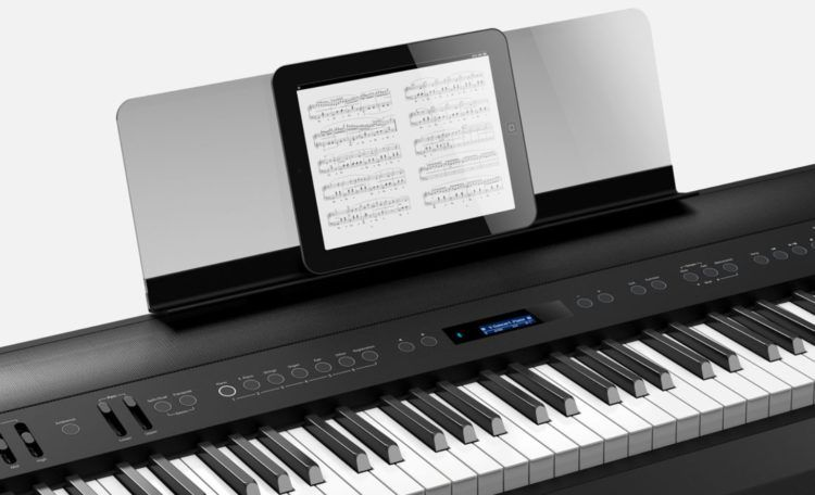 The Roland Fp 90 With Transparent Music Rest And Bluetooth Piano Digital Piano Digital