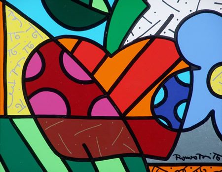 Pinturas Romero Britto - Pesquisa Google   Americana paint ...