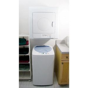 Compact Washer And Dryer Set Looks Perfect For Apartment Living
