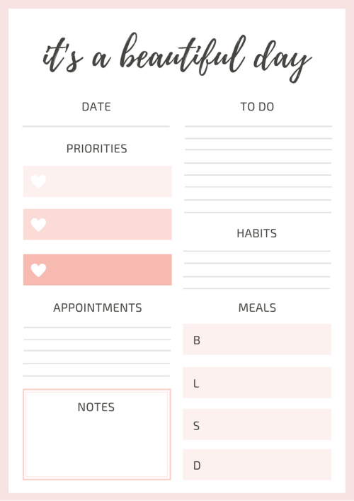 10 Beautiful Daily Planners