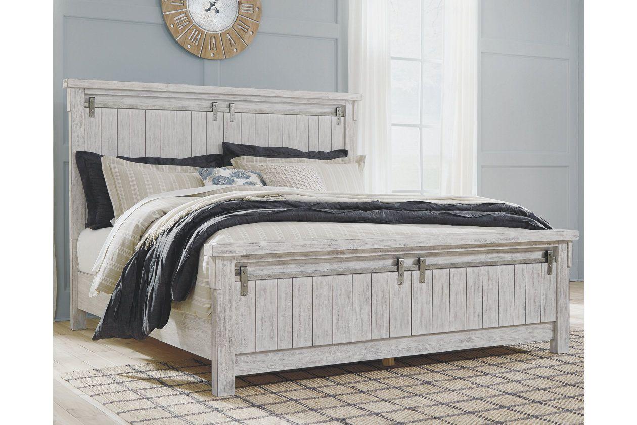 Brashland Queen Panel Bed Serene bedroom, White king