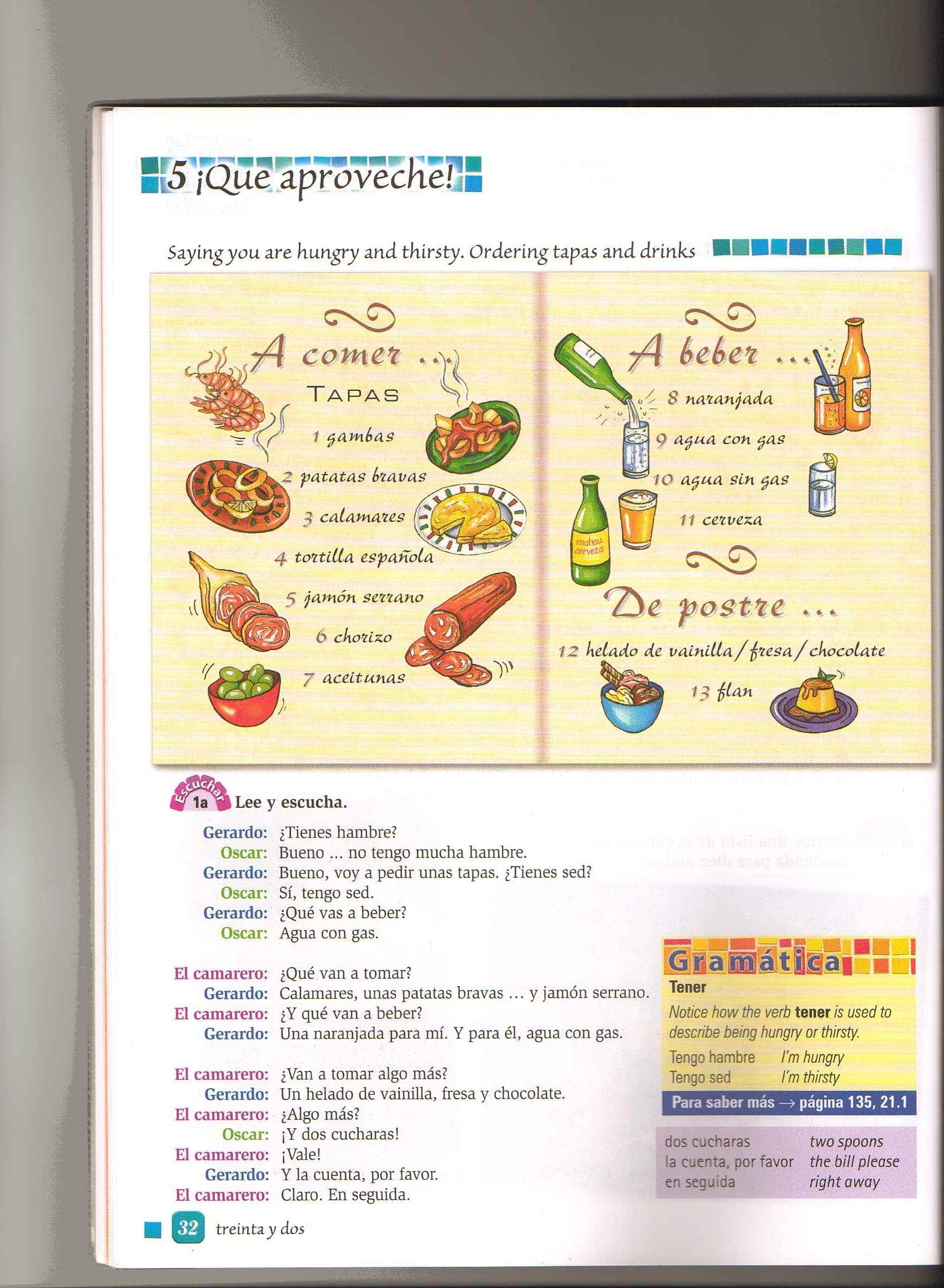 Dialogo Restaurante