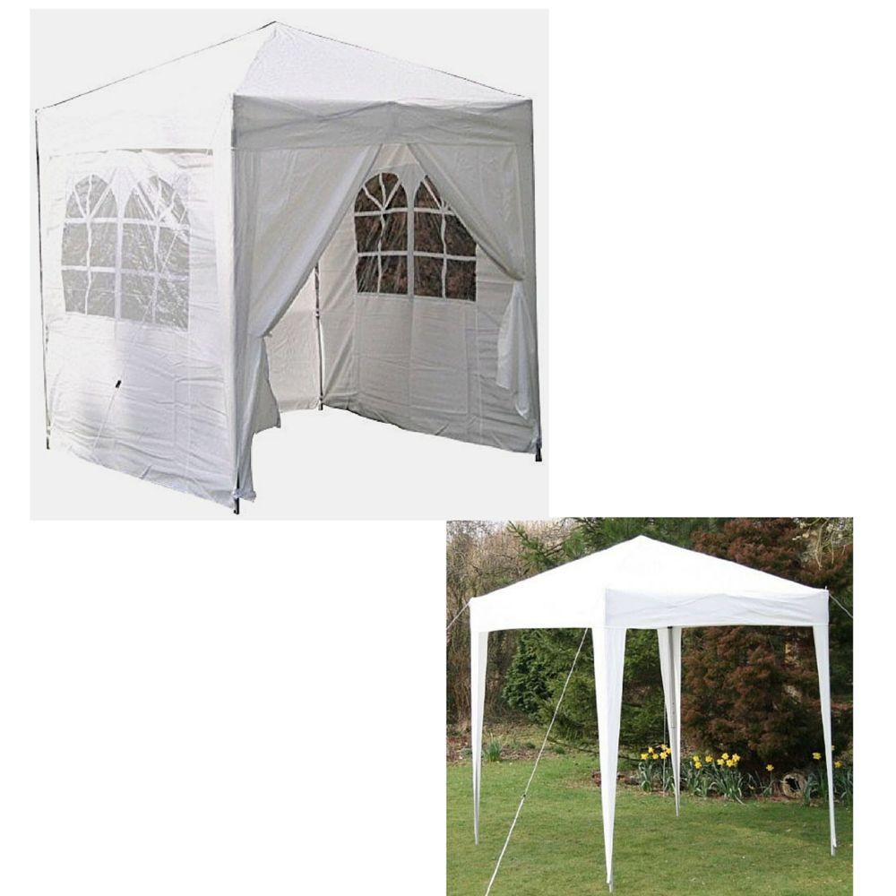 Outdoor Pop Up Gazebo Patio Canopy Tent Rain Sun Protection Picnic Gazebos  Panel