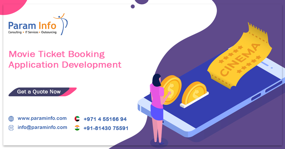 Want To Develop An Online Movie Ticket Booking App Or Website Like Bookmyshow We Offer Complete With Images Ios App Development App Development App Development Companies