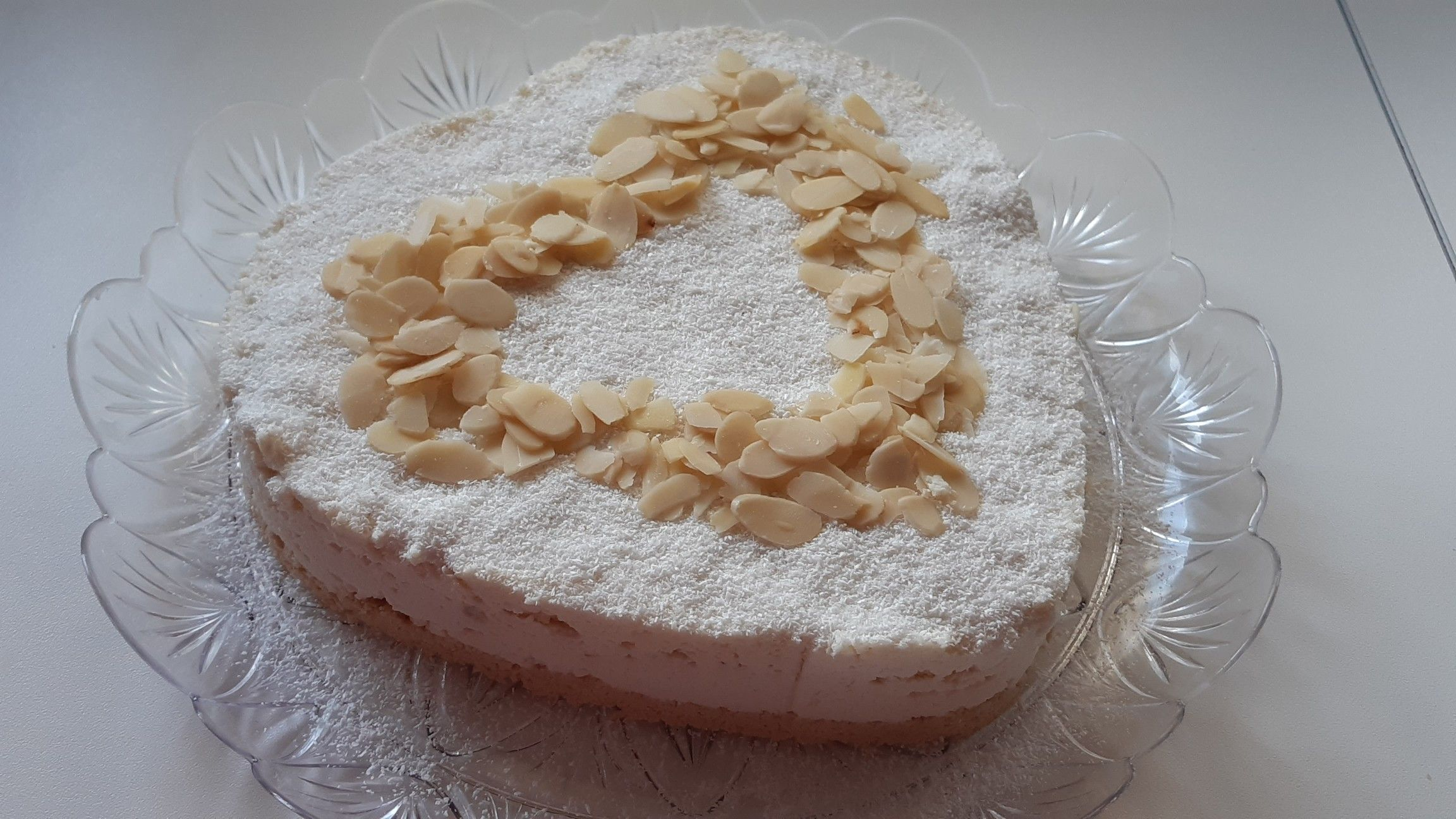 Photo of EASY COCONUT and YOGURT cake for SAN VALENTINO ❤
